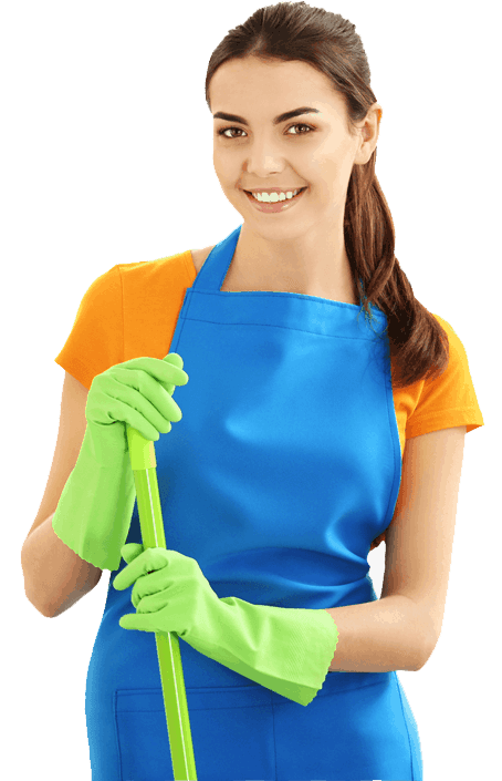 Cleaning License Lady